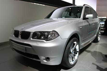 bmw x3 hybrid announced to launch in 2008 the green. Black Bedroom Furniture Sets. Home Design Ideas