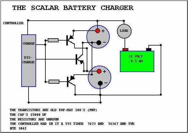 john bedini u0026 39 s scalar wave battery charger