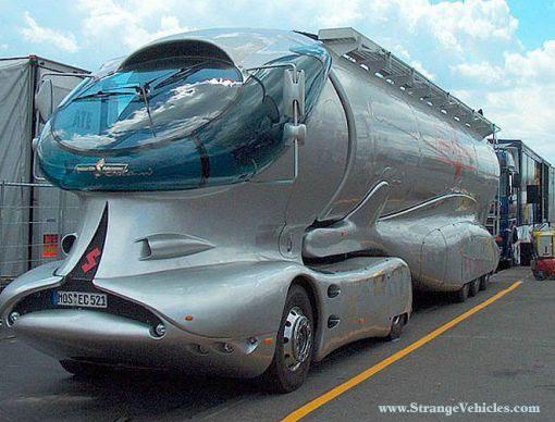 aerodynamic trucks fight diesel rising prices   the green