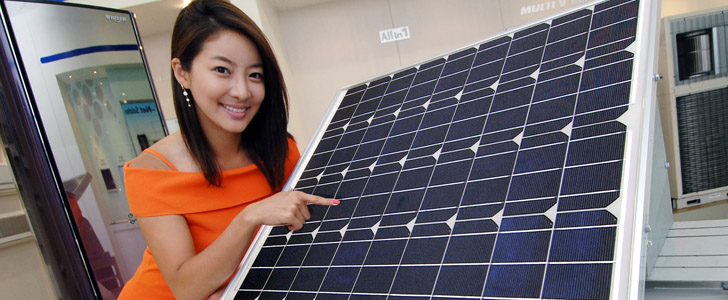 Lg Electronics Launches Solar Powered Hybrid Air