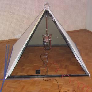 Pyramid Generator Runs 12W Fan - The Green Optimistic