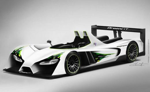 Greengt All Electric Race Car To Attend The Hours Lemans