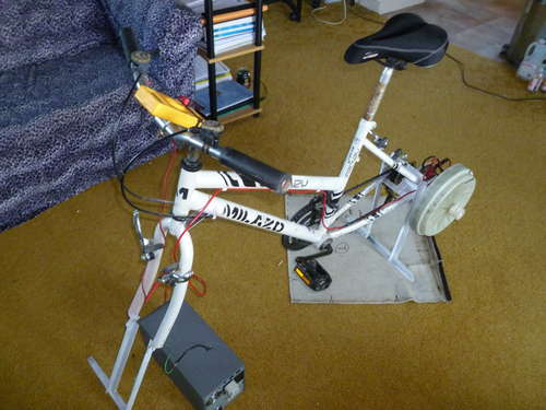 Pedal Powered Bike Generator Building Guide The Green