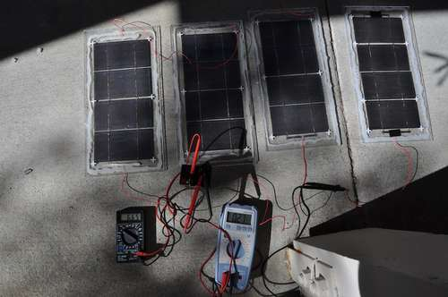 self contained portable solar system - photo #7