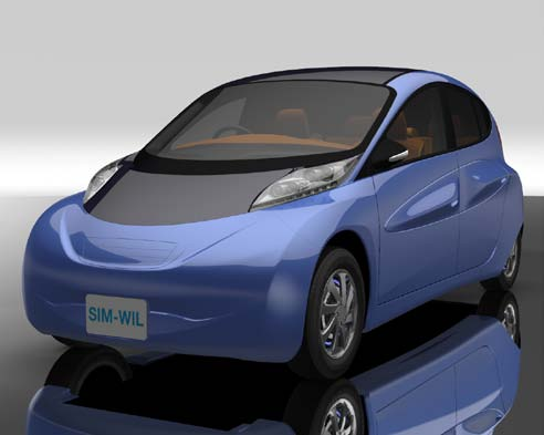 Sim Wil The Japanese Electric Ride That Rivals Gasoline Sports