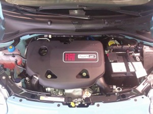 Fiat TwinAir Engine in the Fiat 500