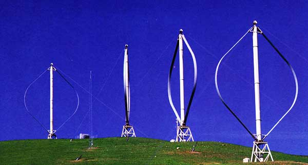 The Darrieus eggbeater vertical axis wind turbine (VAWT) has a new ...