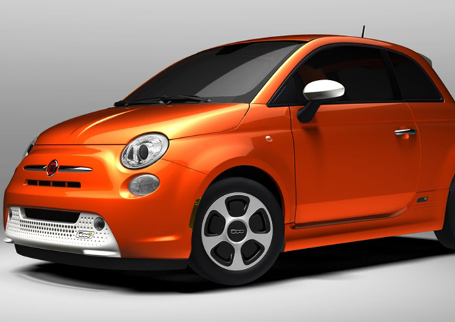 FIat 500e - Revealed at the 2012 Los Angeles Auto Show