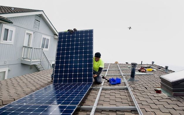 California solar energy