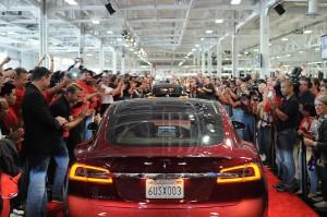 June 2012 Tesla Model S First Deliveries