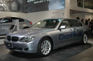 BMW Hydrogen Prototype (GM HFC) at Tokyo 2007