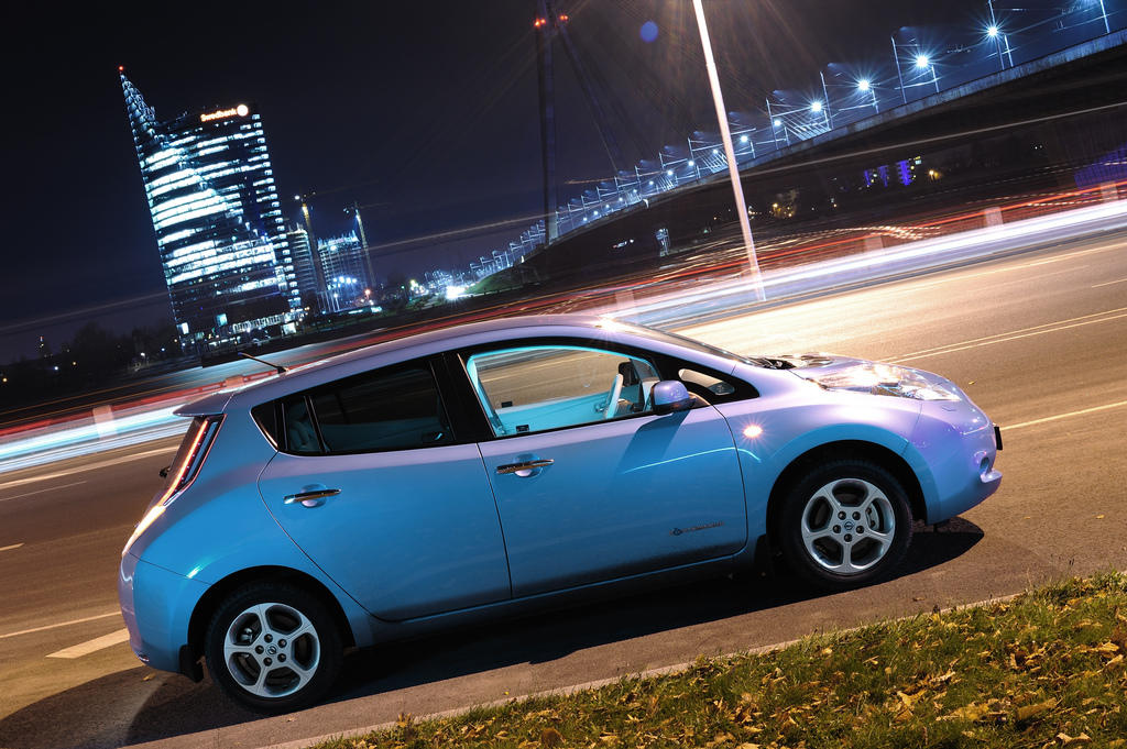 Nissan Leaf, Easy to Drive
