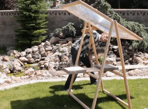 How To Build An 8 Fresnel Lens Solar Concentrator From Old Tv