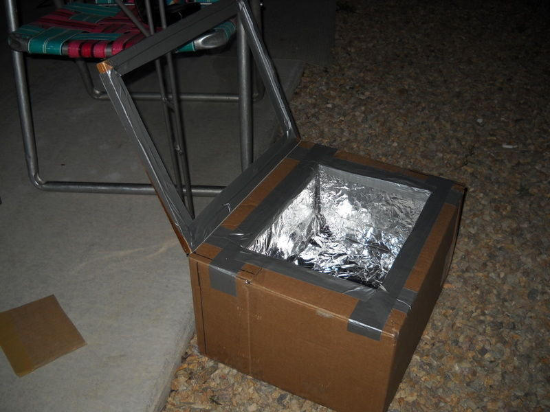 Make A Solar Oven From Cardboard Box In 5 Steps The