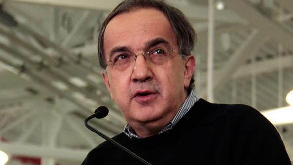 Fiat-Chrysler CEO Sergio Marchionne at 2013 SAE World Congress