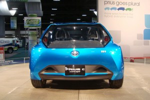 Most Automakers Must Get Used to the Rear View of Toyota Prius c