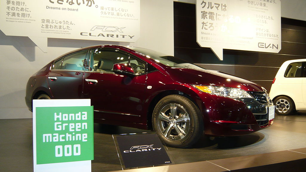 Honda FCX Clarity Fuel Cell Vehicle