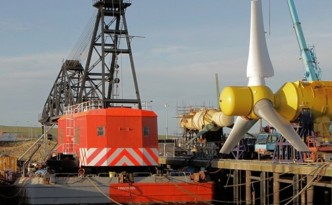 New 1MW Tidal Turbine Harvests Ocean Energy in Sweden