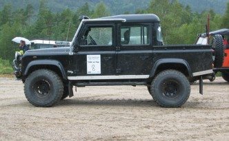 Land Rover Defender 110, an Unlikely Electric Truck?