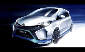 Toyota Yaris Hybrid-R Concept to Debut at 2013 Frankfurt Motor Show