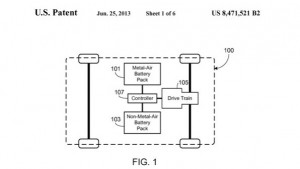 Tesla Motors Patent for Hybrid-Battery Electric Vehicle