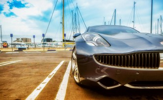 One of the few Fisker Karma Produced by Failed Fisker Automotive