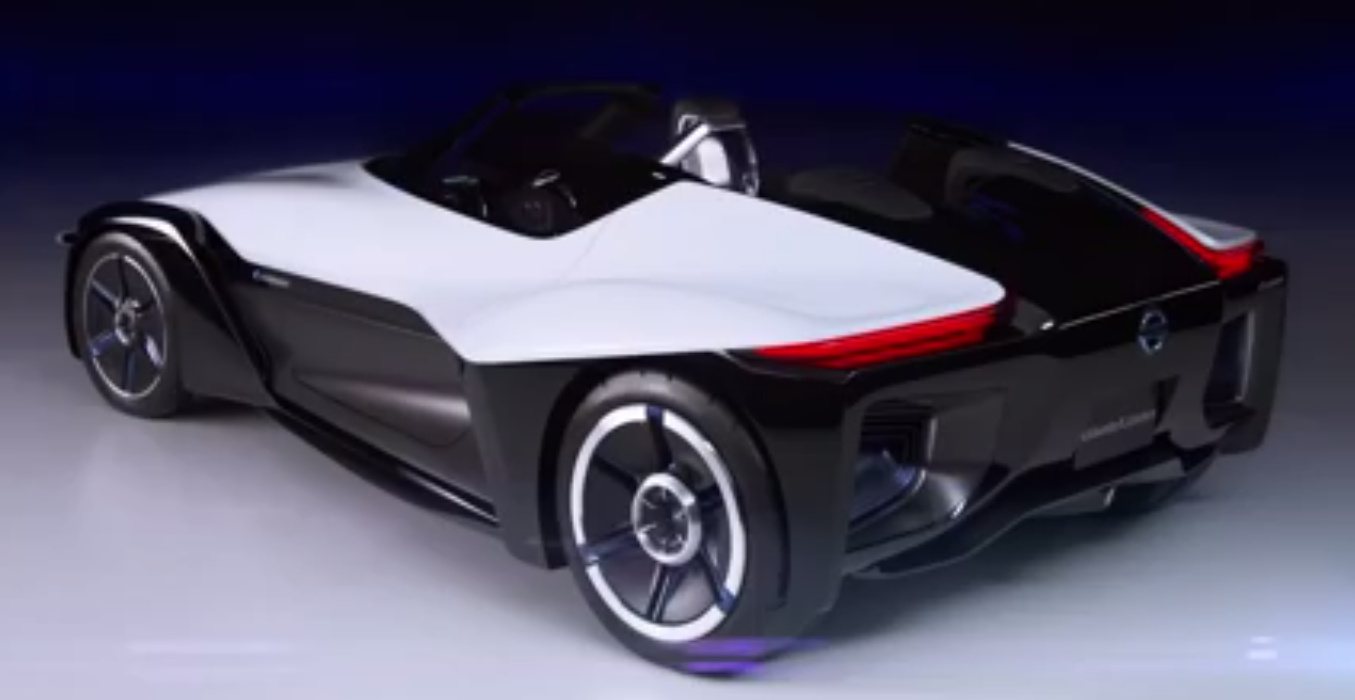 nissan bladeglider is electric vehicle supercar concept