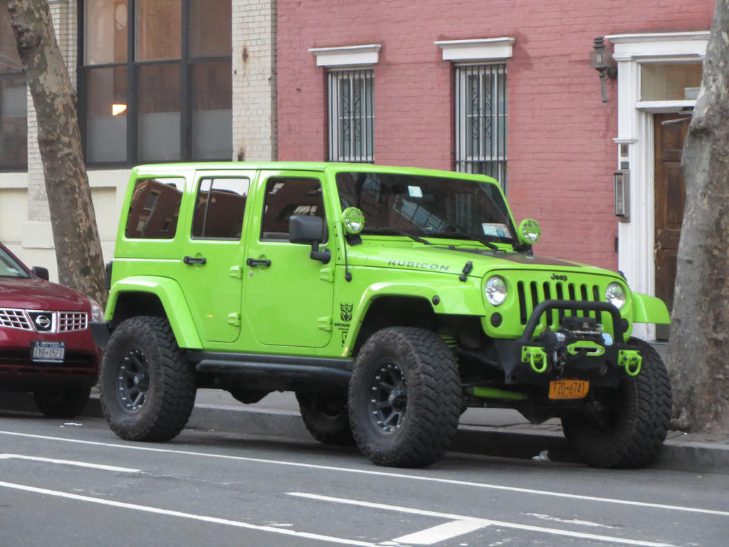 Jeep Hybrid, Not THAT Kind of Green