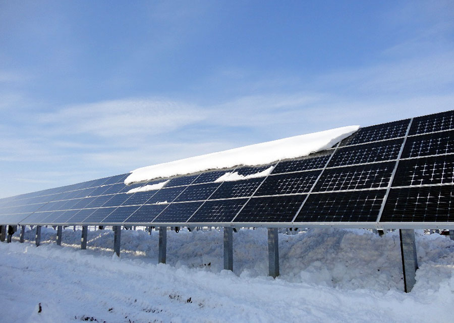 Cool Double Sided Solar Panels More Efficient In Snow
