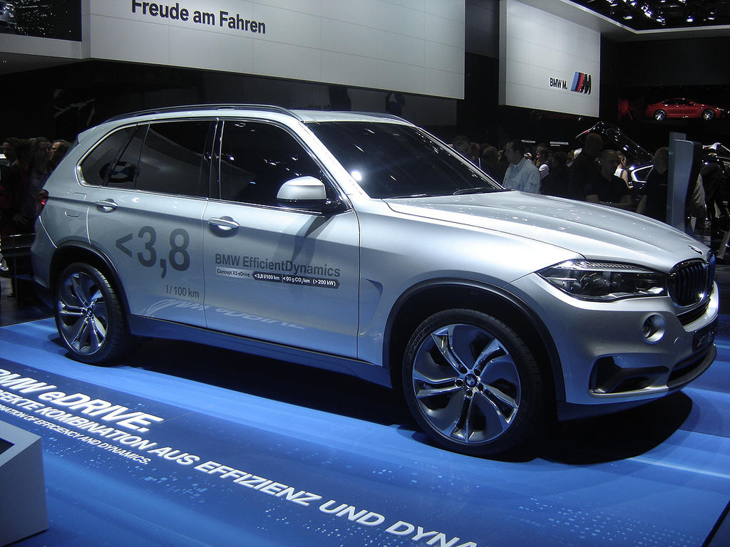 Bmw X5 Edrive Over 60 Mpg In A Luxury Suv