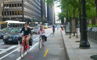 dearborn street bike lane crop
