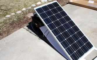 Portable and affordable backup solar power.