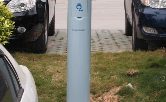Electric Vehicle Charging Station in Shenzhen