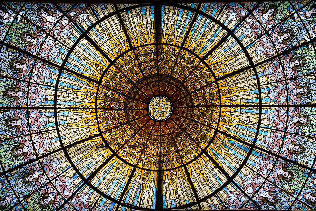 principle behind stained glass colors solar future bright