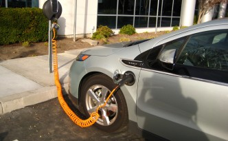 Electric vehicle and plug-in hybrid sales, on the rise in spite of falling gasoline prices.