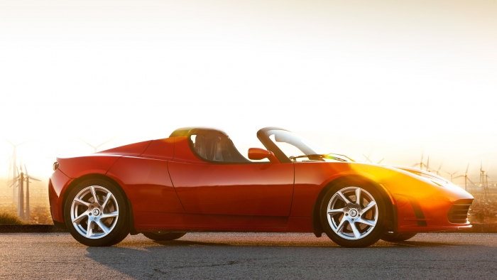 Tesla Roadster - Upping its Game, Again.