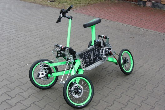 EV4 Innovative Electric Quad Bike The Green Optimistic