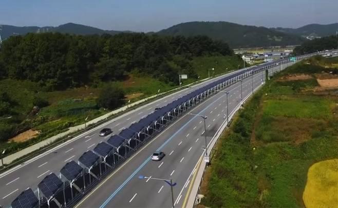 Solar Panels Cover Bike Lane In South Korea The Green
