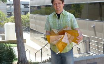 origami solar array