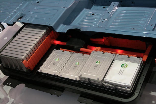 Electric Car Swappable Battery