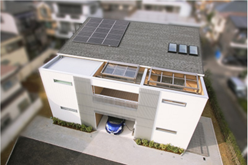 The honda smart concept house ev pv and gas generation for Concept homes