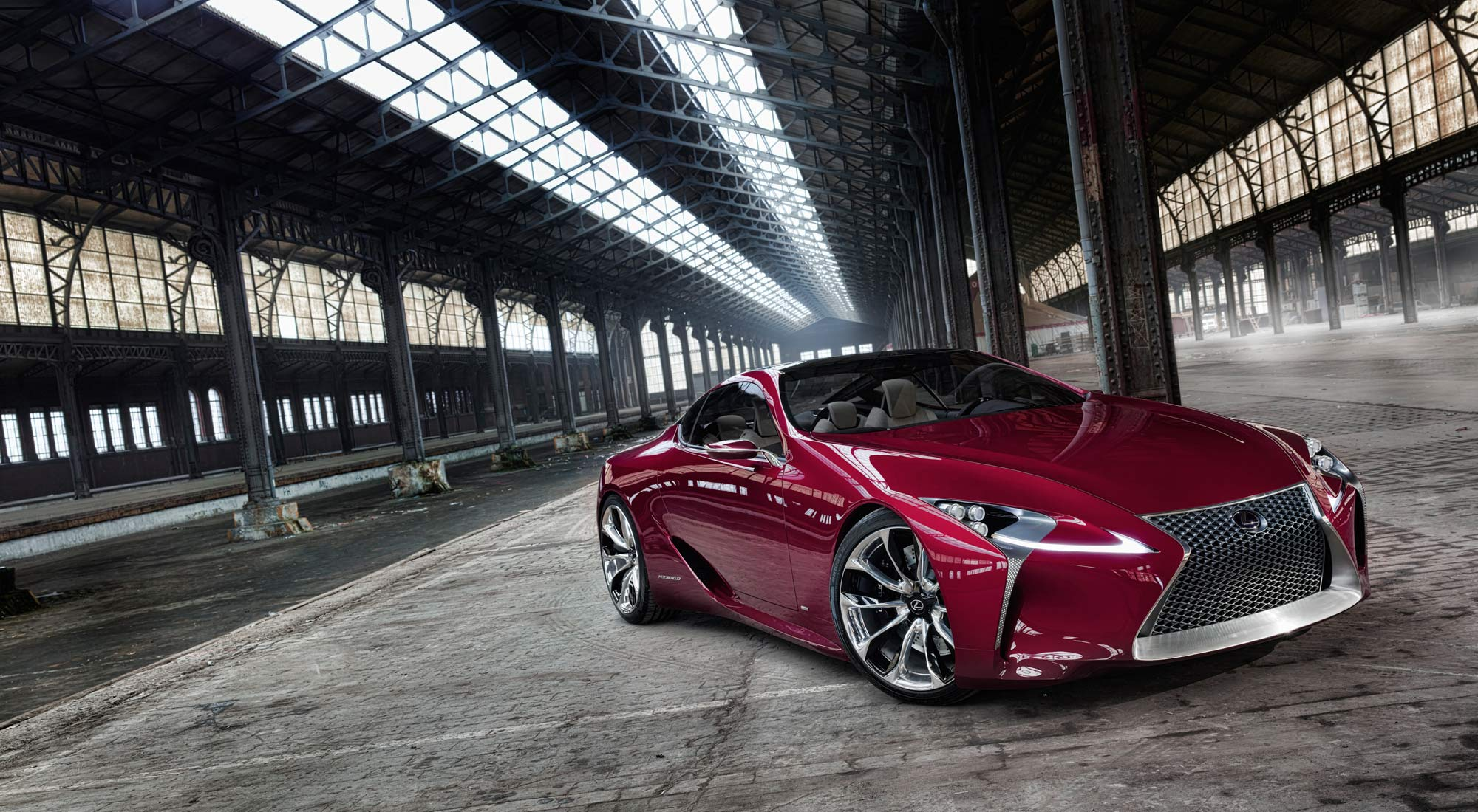 LF FC 1 Toyotau0027s Luxury Vehicle Division, Lexus, Has Introduced The Newest Concept  Car ...