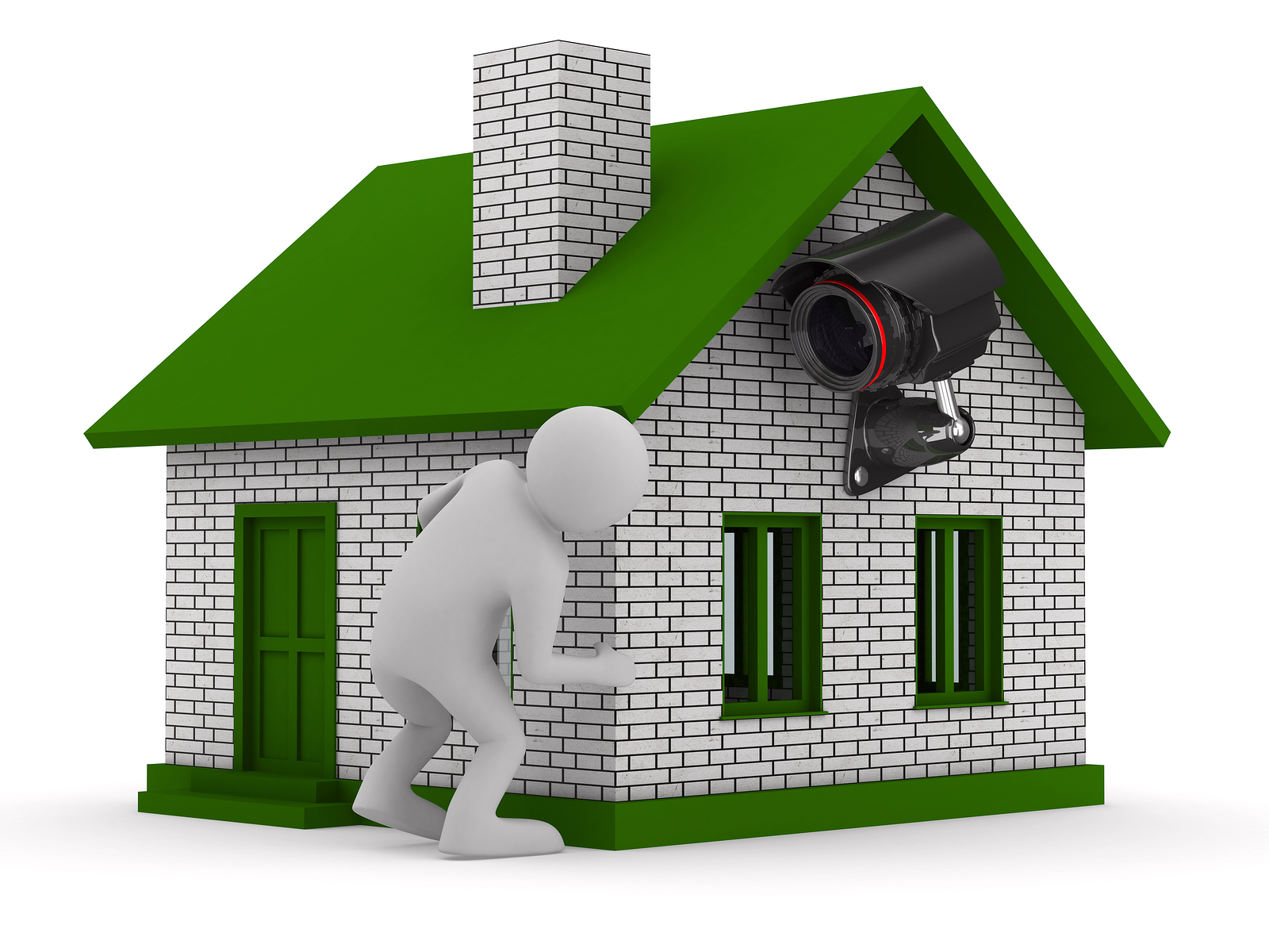 How to green up your home security systems the green for How to green your home