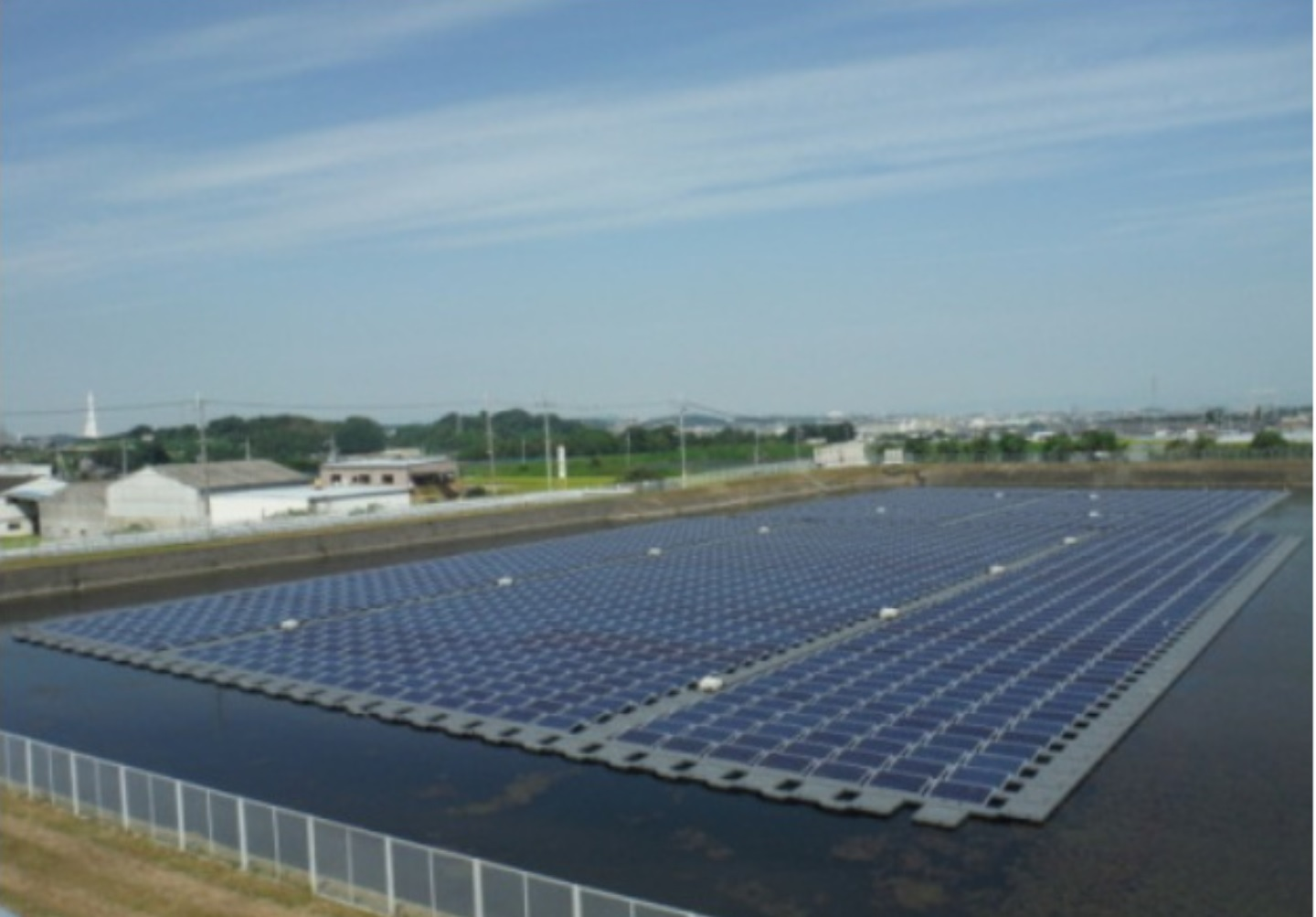 Japan S Largest Floating Solar Plant Being Built The