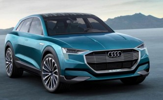 Audi could reveal a hydrogen powered concept SUV.