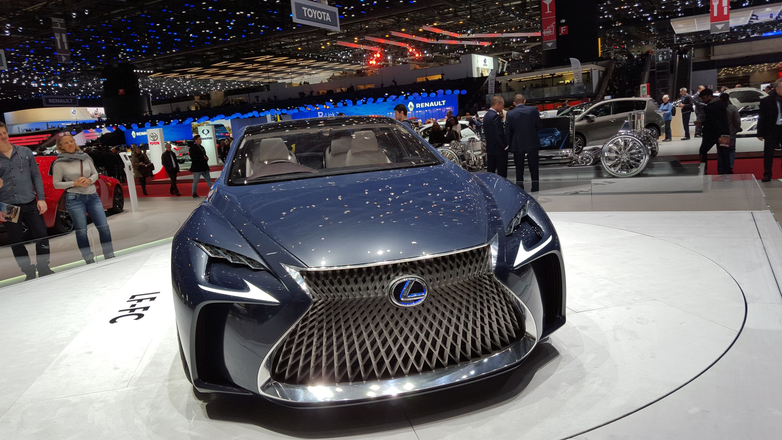 Top Hottest Electric Cars At The Geneva Motor Show The