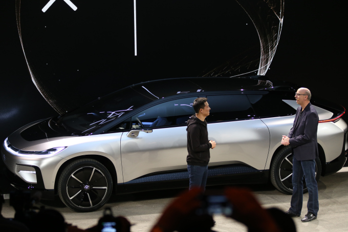 Faraday Future Unveils The Amazing Ff 91 At Ces 2017
