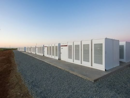 Tesla mega-battery in Australia activated