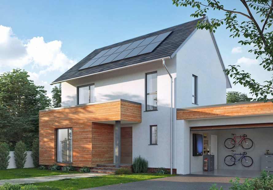 Nissan launches Energy Solar in United Kingdom ; solar panels plus energy storage